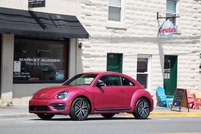 VW #PinkBeetle