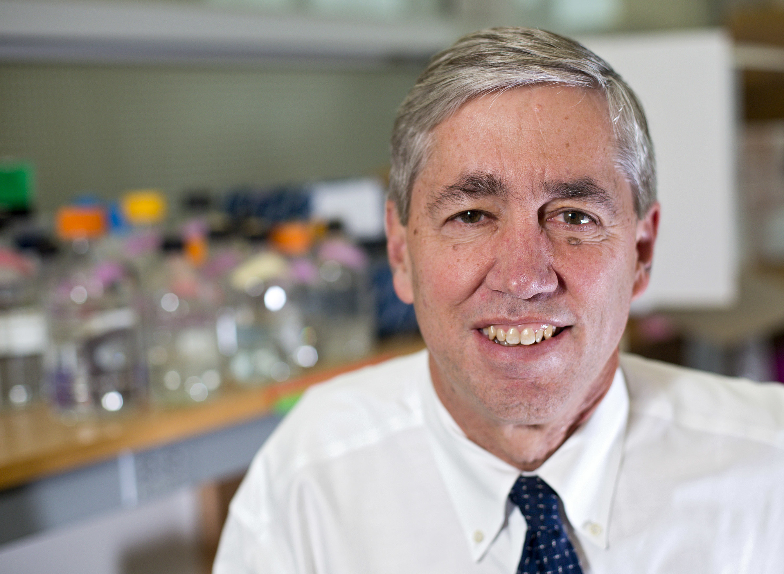 Richard P. Lifton, M.D., Ph.D., has been named eleventh president of The Rockefeller University in New York City. Photo: Brian Ach / Howard Hughes Medical Institute.