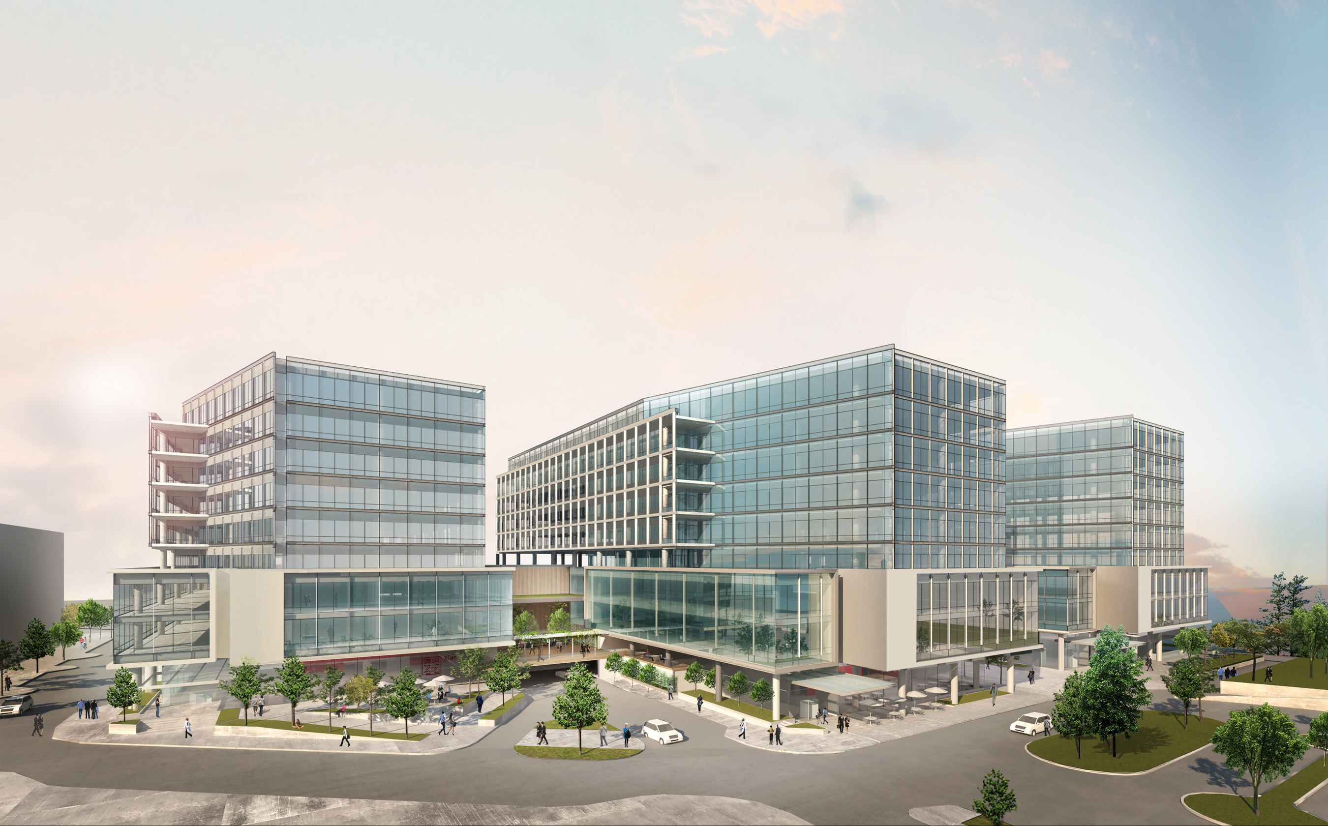 SECO Development, Inc. announces high-tech Southport Waterfront Corporate Campus on Lake Washington