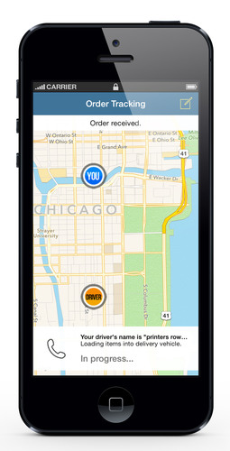 Drizly, the smartphone app for fast, convenient alcohol delivery, today announced service throughout Chicago. Simply download and order, and alcohol is delivered in just 20-40 minutes. (PRNewsFoto/Drizly) (PRNewsFoto/Drizly)