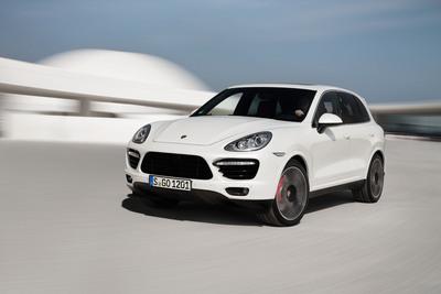 Porsche Introduces New Cayenne Turbo S with 550 hp.  (PRNewsFoto/Porsche Cars North America, Inc.)
