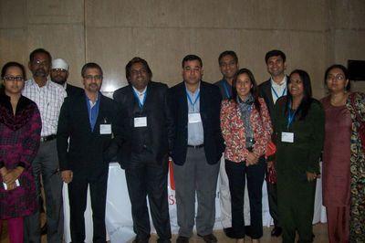 MRSS india team's Jyotsana Bohra, Pravin Thali, Mani Kalsi , Sarang Panchal, Raj Sharma, Gaurav Joshi, Salil Khadikar, Meghna Mathur, Rashid, Bhawana Sinha, Vibha Bhilawadikar.