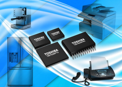 Toshiba motor driver ICs reduce motor noise, vibration and size to help optimize home and business equipment performance. (PRNewsFoto/Toshiba America Electronic)