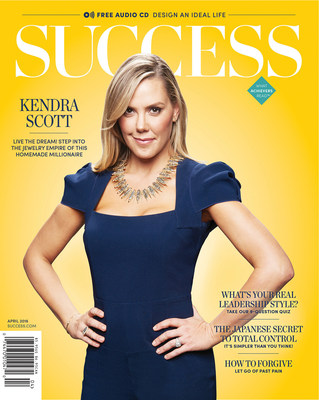 """SUCCESS Magazine April 2016, featuring Kendra Scott as its cover story, focuses on where people """"dwell."""" Whether the office is your second home or your home is your main office, the issue offers a number of perspectives on improving where- and how- you work."""