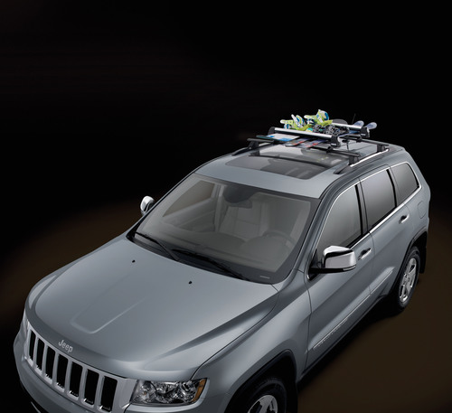 Racks and carriers: Mopar offers a full line of roof racks, and bike, ski, canoe and luggage carriers, along ...