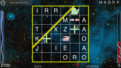 'String Theory: a Word Game' for iOS Preview Available Now.  (PRNewsFoto/Gecko LLC)