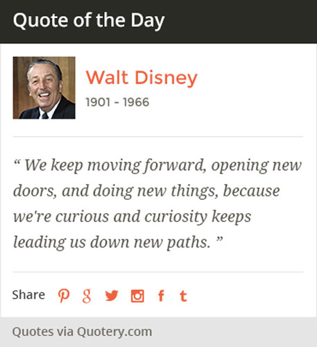 """Quote of the Day"" widget. (PRNewsFoto/Quotery) (PRNewsFoto/QUOTERY)"