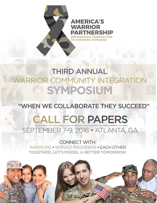 Third Annual Warrior Community Integration Symposium Issues Call for Papers