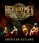 The Highwaymen Live - American Outlaws, album cover