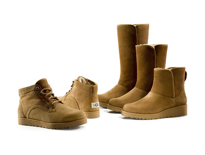 UGG(R) Classic Slim Collection in Chestnut colorway