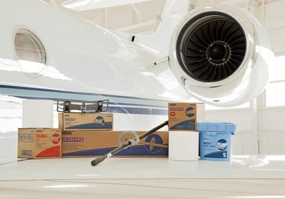 Kimberly-Clark Professional offers a full line of application-driven wiping solutions that address the unique needs of the aviation industry, helping create measurable improvements in safety, quality, productivity and cost.