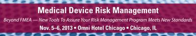 FDANews and Ombu Enterprises Present: Medical Device Risk Management Workshop.  (PRNewsFoto/FDAnews)