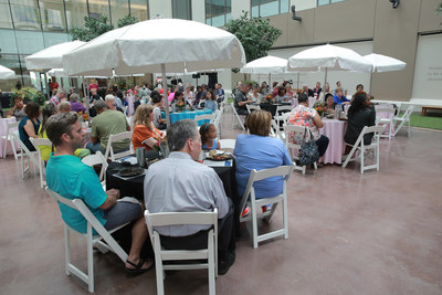 Houston Methodist Willowbrook Hospital celebrates cancer survivors and caregivers during annual National Cancer Survivors Day luncheon & balloon release.