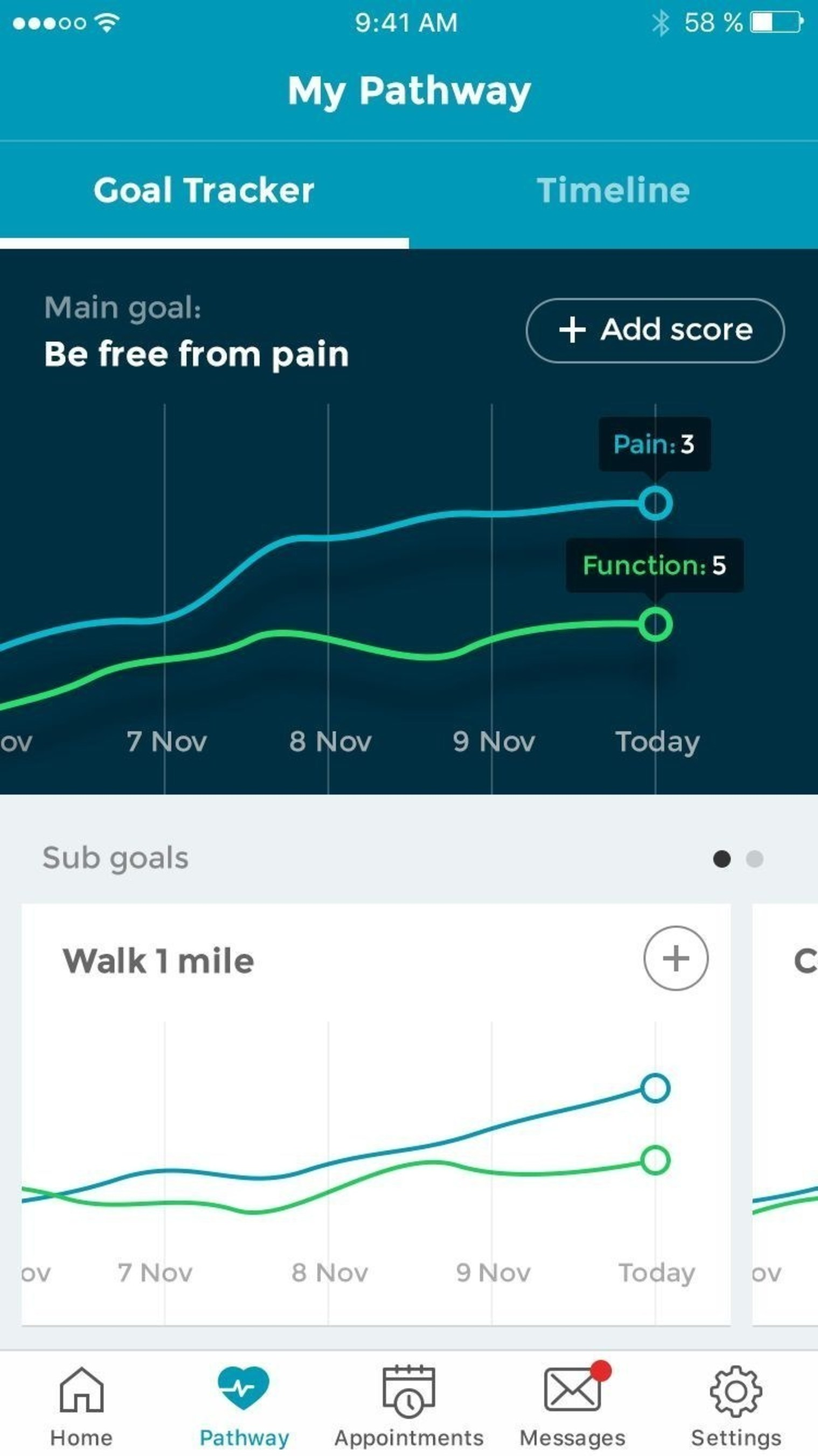 Lumeon Navigator Mobile App