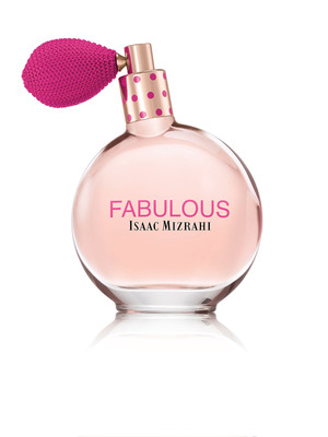 Isaac Mizrahi to launch his first fragrance for women:FABULOUS.  (PRNewsFoto/The Cloudbreak Group)
