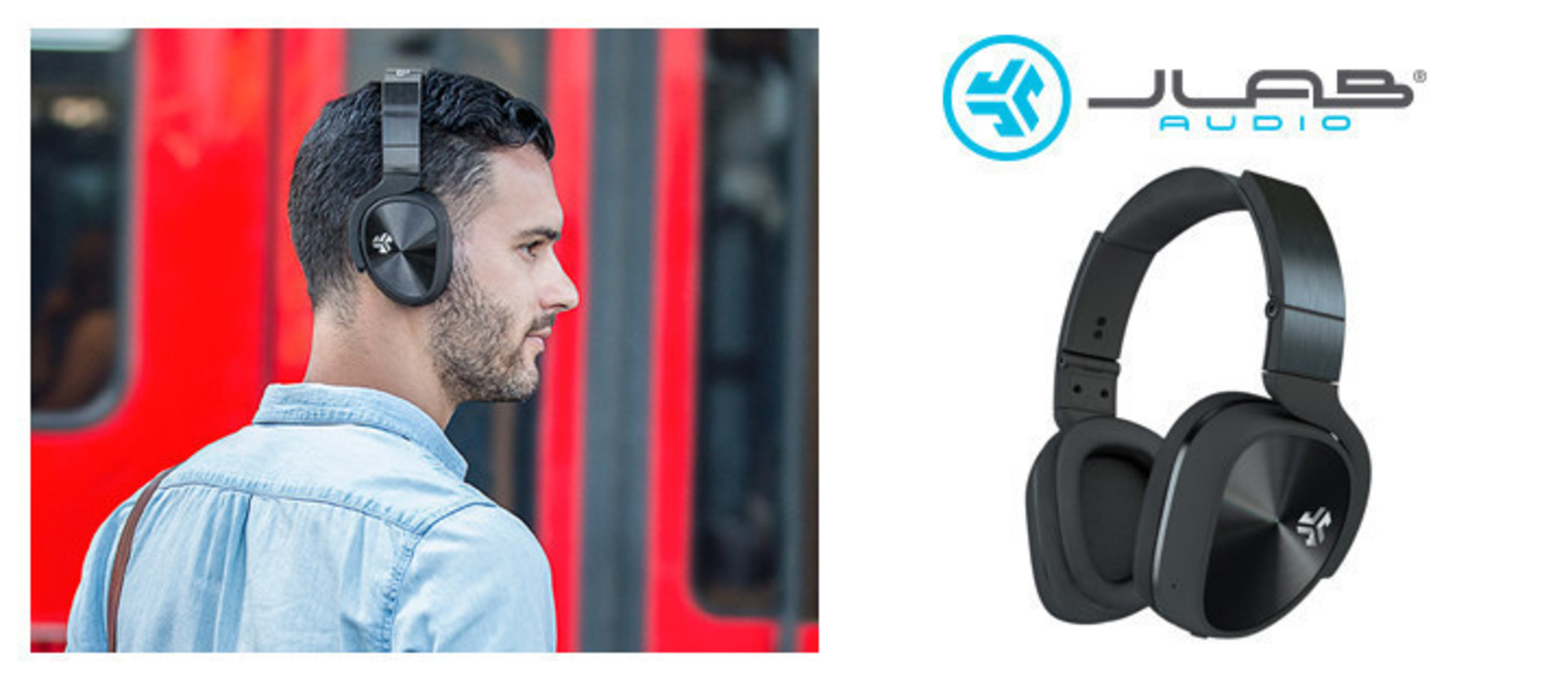 50a30403727 JLabAudio.com. The Flex Bluetooth Active Noise Canceling Headphones will  eliminate up to 94% of unwanted background