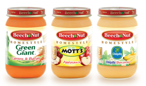Beech-Nut Announces New Baby Food Line Featuring Mott's Applesauce