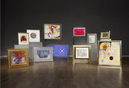 IngaBritt & Arne Lundberg Collection - Selected works (PRNewsFoto/Stockholms Auktionsverk)