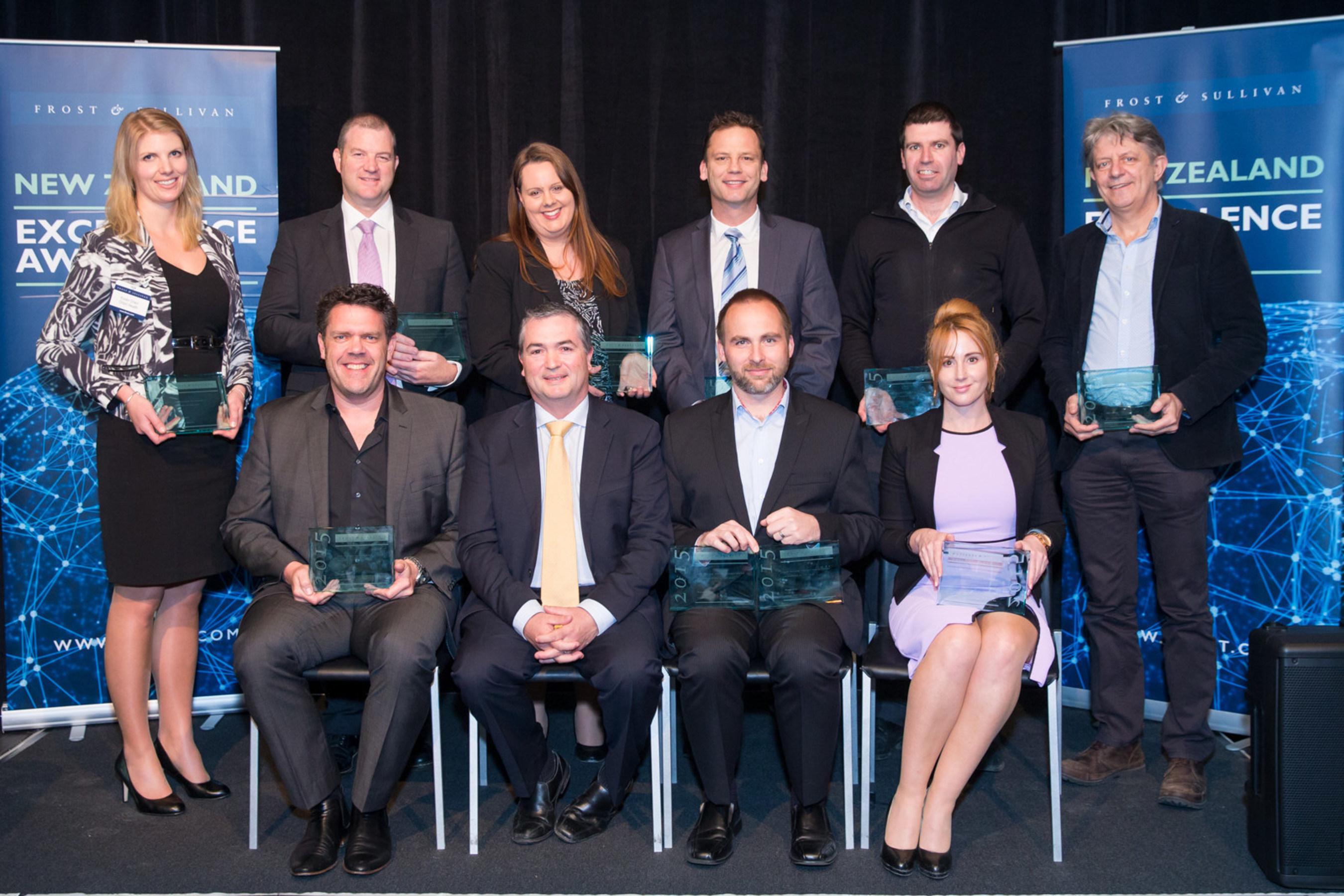 Frost & Sullivan's 2015 New Zealand Excellence Awards Recognises 13 of New Zealand's Best Across 6