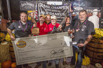 Tuffy Stone of Richmond, Va. wins the 27th Annual Jack Daniel's World Championship Invitational Barbecue on October 24 in Lynchburg, Tenn. This makes a total of 4 World Championships within 24 months making Stone the undeniable most successful pitmaster on the professional competitive barbecue circuit.