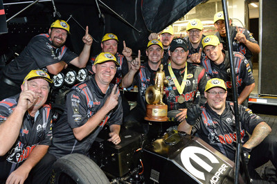 Matt Hagan wins all-Mopar final at NHRA Thunder Valley Nationals for his fourth victory of the year
