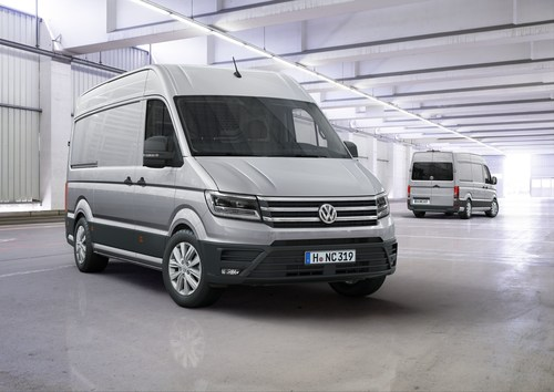 The new Crafter is the International Van of the Year 2017 (PRNewsFoto/Volkswagen Commercial Vehicles)