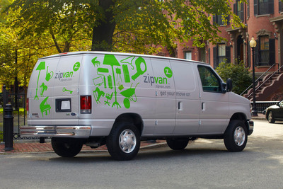 "Zipcar Launches Pilot for ""Zipvan"" Cargo Van Service in San Francisco.  (PRNewsFoto/Zipcar, Inc.)"