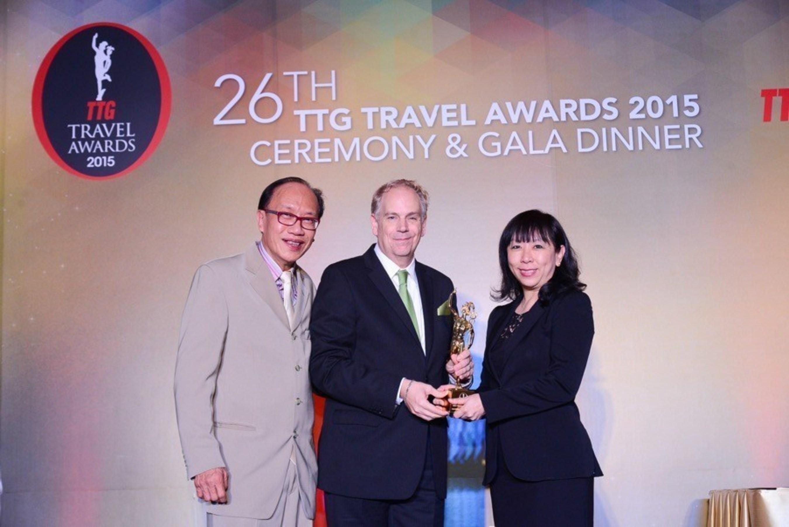 Le Mandarin Orchard Singapore désigné Meilleur hôtel de la ville pour la troisième année