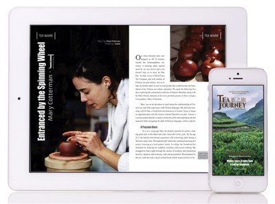 Tea Journey Magazine readies for global launch with Kickstarter campaign; Mobile, consumer-focused publication inspires readers to discover and refine their taste in tea