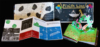 Ezra Jack Keats Foundation/NYC Dept of Ed announce city-wide winners of 2014 Ezra Jack Keats Bookmaking Competition: top, Journey to the Stars, by Gianluca Pellegrini, Ping Wen Lin (Gr 5, P.S./I.S. 229, Dyker School, Bklyn); L: New York City, by Alex Trinidad, Brian Tzic (Gr 8, P77K/Dist 75, Bklyn); R: In Praise of Plants: Part V, illus by Aleksandra Stanisavljevic (Gr 12, Stuyvesant H.S., Manhattan). City-wide and other winning books on exhibit-Brooklyn Public Library Central Library May 5-23.  (PRNewsFoto/Ezra Jack Keats Foundation)