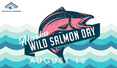 In addition to celebrating Alaska Wild Salmon Day with a favorite salmon dish and recipes from wildalaskaseafood.com, seafood lovers in select areas of Seattle, Anchorage and Juneau can have even more seafood fun through the use of a special one-daily-only Snapchat geofilter, or by including #AskForAlaska on social posts and following Alaska Seafood on Facebook (@alaskaseafood), Twitter (@Alaska_Seafood) and Instagram (@alaskaseafood).