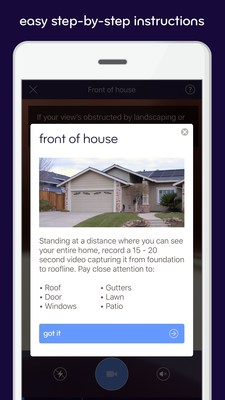 Esurance DIY Home Inspection app.