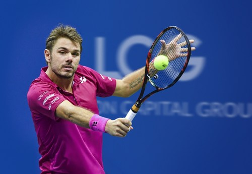 LCG Proud sponsors od Stan Wawrinka (PRNewsFoto/London Capital Group)