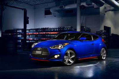 Hyundai Turbo R-Spec Model Joins Veloster Line-Up.   (PRNewsFoto/Hyundai Motor America)