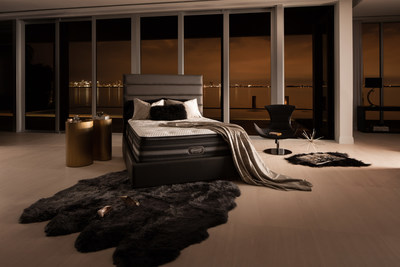 The 2016 Beautyrest Black(R) collection builds upon its signature approach of combining technology and luxury. Beautyrest aims to continue the line's extraordinary sales with twelve new models to debut at Las Vegas Market.