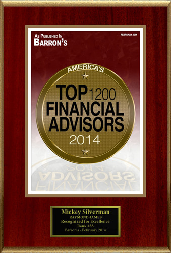 "Mickey Silverman Selected For ""America's Top 1200 Financial Advisors"". (PRNewsFoto/American ..."