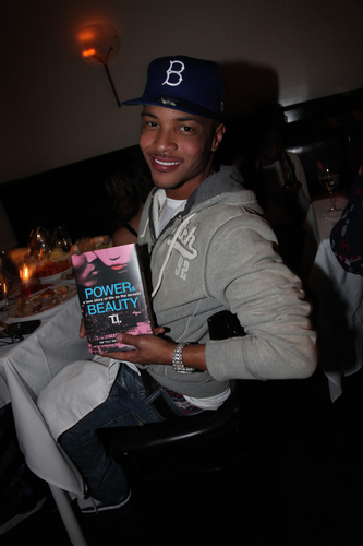 T.I. Flies to New York to Celebrate His 'Welcome Home' Party at Favorite Restaurant, Philippe by