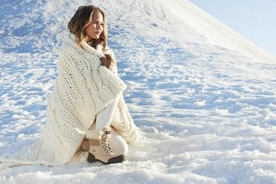 Chrissy Teigen in UGG Australia's Winter Campaign.