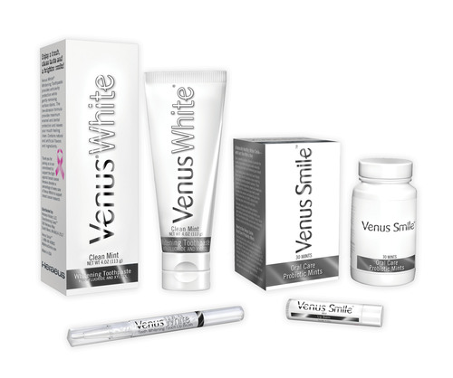 Heraeus Expands Its Venus White Line of Whitening Maintenance and Oral Care Products