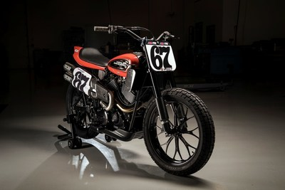 A new-generation Harley-Davidson flat-track motorcycle is ready to race. Harley-Davidson has unleashed its new flat track race bike, the XG750R, its first all-new flat track race bike in 44 years, to battle the fierce, adrenaline-filled competition of dirt tracks across the U.S.