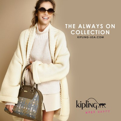 The Always On Collection now available at Kipling-USA.com. (PRNewsFoto/Kipling)
