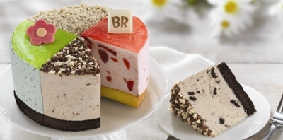 Baskin-Robbins Introduces Special Ice Cream Cake And Flavor Lineup To Celebrate Mom This Mother's Day (PRNewsFoto/Baskin-Robbins)