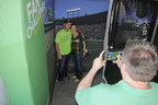 Fans enjoy Associated Bank's Touchdown Central fan challenge at Lambeau Field at all Packers home games.
