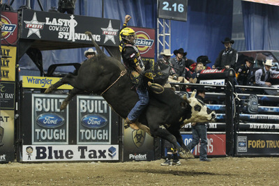 Professional Bull Riders' Last Cowboy Standing Event Featuring 2012 Winner Silvano Alves Returns To Las Vegas May 10 - 11 At Mandalay Bay Events Center.  (PRNewsFoto/Professional Bull Riders)