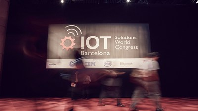 IOT world congress last edition (PRNewsFoto/Fira de Barcelona)