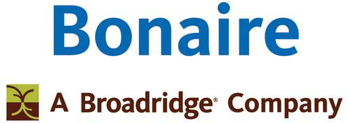 BR Bonaire Logo. (PRNewsFoto/Bonaire, A Broadridge Company) (PRNewsFoto/BONAIRE, A BROADRIDGE COMPANY)