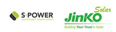 sPower and JinkoSolar logos