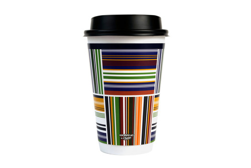 Comfort Cup by Chinet insulated hot cup reveals new design for 2014. (PRNewsFoto/CHINET(R) Brand) (PRNewsFoto/CHINET(R) BRAND)