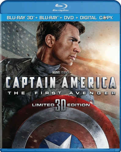 Marvel's Renowned Super Hero Leads the Charge in CAPTAIN AMERICA: The First Avenger Armed with