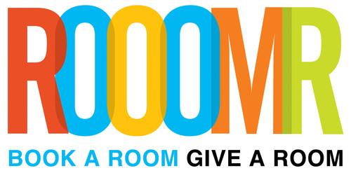 Book A Room Give A Room. (PRNewsFoto/ROOOMR) (PRNewsFoto/ROOOMR)